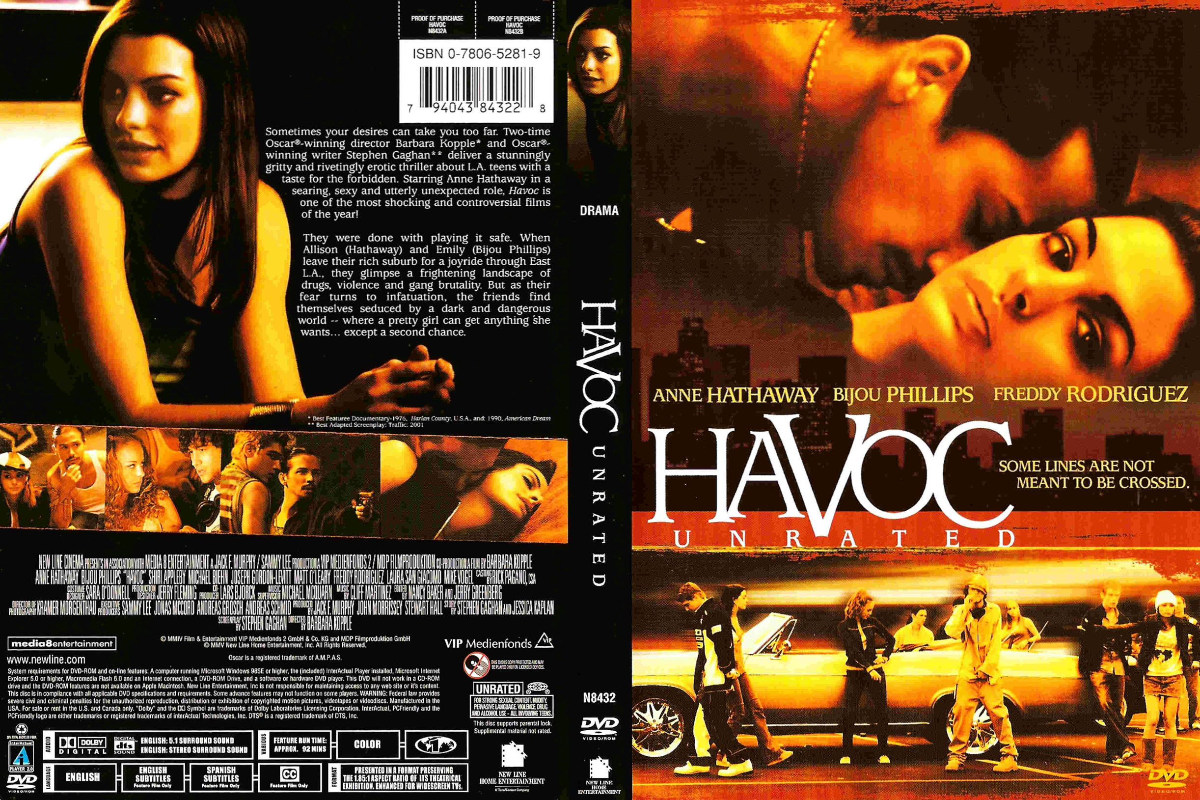 Havoc 2005 Unrated Uncut Anne Hathaway Youtube