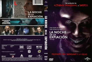 The Purge La Noche De La Expiacion Custom Por Fable - dvd