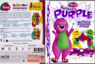 BARNEY PERFECTLY PURPLE