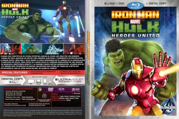 Iron Man Hulk Heroes United Custom Por Leomg203 - dvd