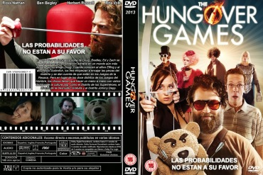 THE HUNGOVER GAMES DVD COVER 2014 ESPAÑOL PBETADOS