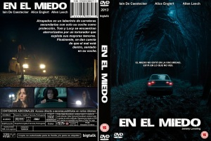 IN FEAR DVD COVER 2013 ESPAÑOL PBETADOS
