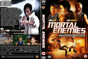MORTAL ENEMIES (PIRATES BROTHERS) DVD COVER 2011 PBETADOS ESPAÑOL