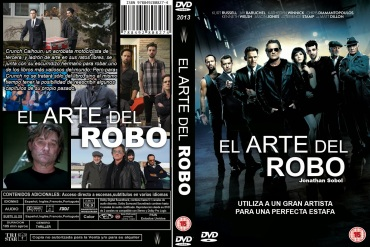THE ART OF THE STEAL DVD COVER 2013 ESPAÑOL PBETADOS