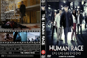 THE HUMAN RACE DVD COVER 2013 PBETADOS