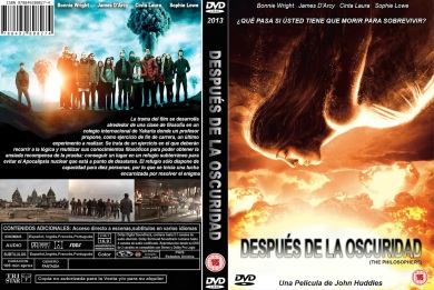 AFTER THE DARK (THE PHILOSOPHERS) DVD COVER 2013 ESPAÑOL 1