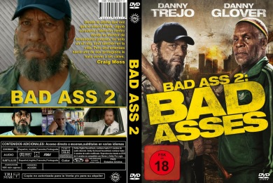 BAD ASS 2 BAD ASSES DVD COVER 2014 ESPAÑOL PBETADOS