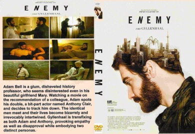 Enemy (2013) - Cover DVD Movie