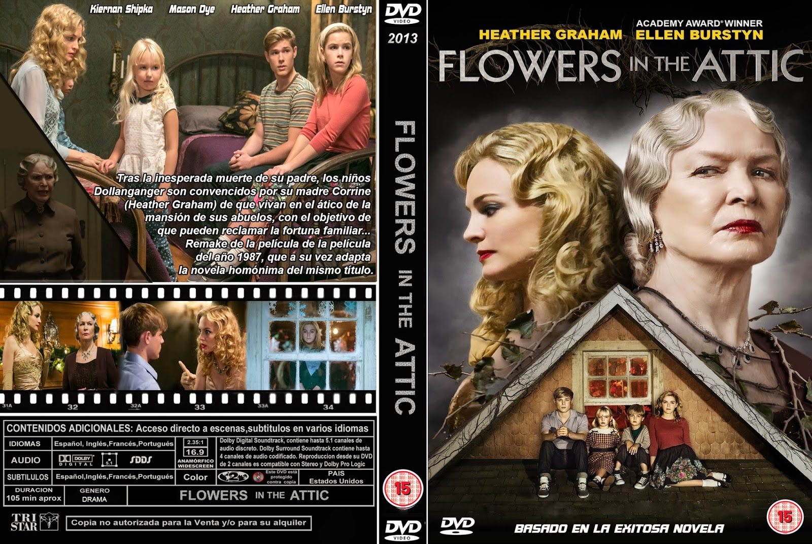 Flowers in the Attic DVD Cover