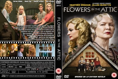 FLOWERS IN THE ATTIC DVD COVER 2014 ESPAÑOL