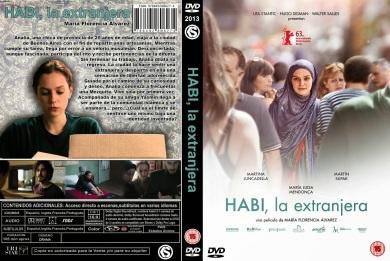 HABI LA EXTRANJERA DVD COVER 2013 ESPAÑOL PBETADOS