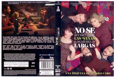 NO SÉ SI CORTARME LAS VENAS O DEJARMELAS LARGAS DVD COVER 2013 ESPAÑOL PBETADOS