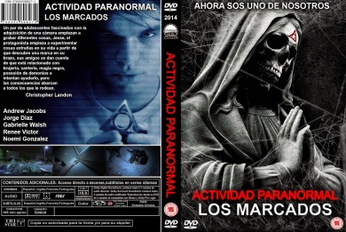 PARANORMAL ACTIVITY DVD COVER 2014 ESPAÑOL PBETADOS