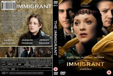 THE IMMIGRANT (EL SUEÑO DE ELLIS) DVD COVER 2013 ESPAÑOL PBETADOS