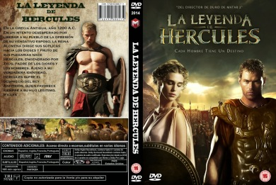 THE LEGEND OF HERCULES DVD COVER 2014 ESPAÑOL PBETADOS