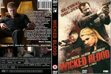 WICKED BLOOD DVD COVER 2014 ESPAÑOL PBETADOS