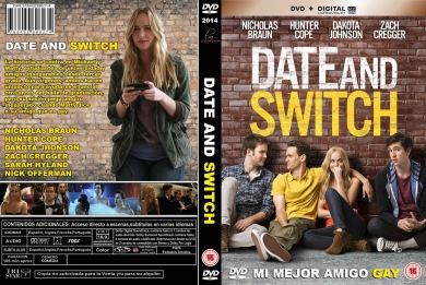 DATE AND SWITCH DVD COVER 2014 ESPAÑOL PBETADOS