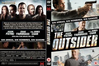 THE OUTSIDERS DVD COVER 2014 ESPAÑOL PBETADOS