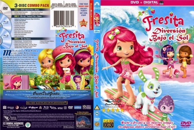 Strawberry Shortcake Fun Under the Sun  2014 DVDR BD NTSC Latino